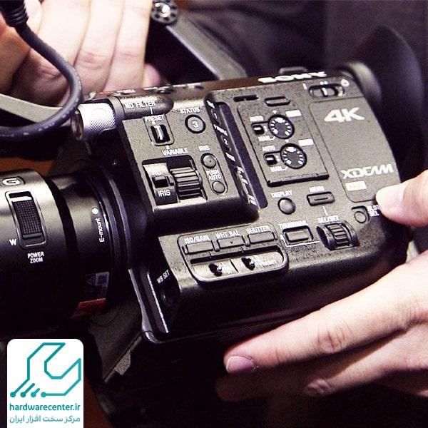 بازیابی اطلاعات دوربین فیلم برداری